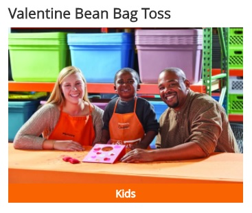 valentines home depot