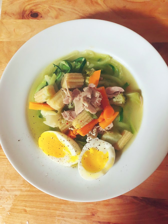 Not Your Mama's Ramen. (Recipe)