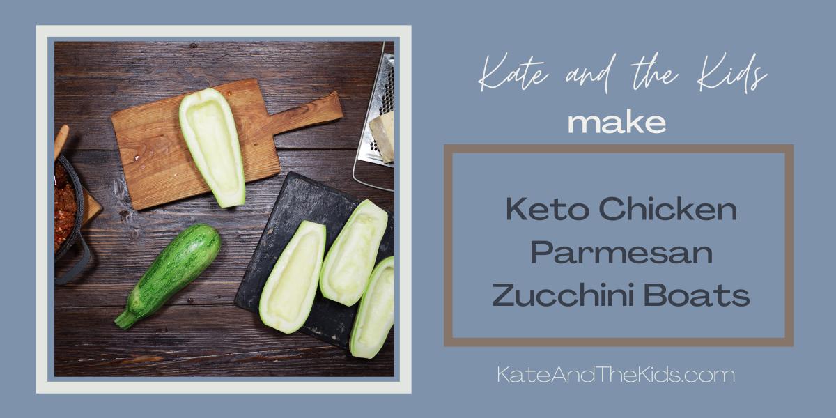 Keto Chicken Parmesan ZucchiniBoats